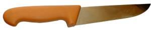 Grundwerkzeug beim Wurst selber machen das Fleischermesser.